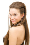 hairstyle Στοκ φωτογραφία με δικαίωμα ελεύθερης χρήσης