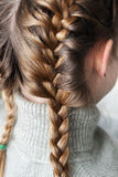 Hairstyle girl Stock Photography