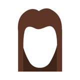 hairstyle icon image Royalty Free Stock Photography