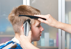 Hairstyle machine Royalty Free Stock Photos
