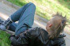 hairstyle mohawk στοκ φωτογραφία με δικαίωμα ελεύθερης χρήσης