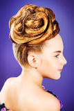 Hairstyle Royalty Free Stock Image