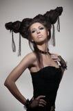 hairstyle potrait γυναίκα στοκ φωτογραφίες με δικαίωμα ελεύθερης χρήσης