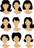 Hairstyles Stock Image