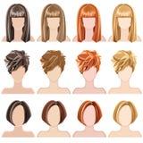 hairstyles Stock Afbeeldingen