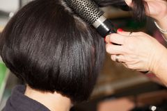Hairstyling Royalty Free Stock Photo