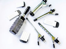Hairstyling set. Stock Photo