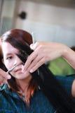 hairstylist fotografia stock