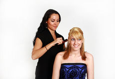 Hairstylist Royalty Free Stock Photos