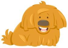 Hairy dog animal character Stock Photo