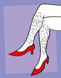 Hairy Legs Stock Image