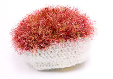 Hairy Mohair Hat Royalty Free Stock Photography