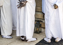 Haitańska Vodou modlitwa Fotografia Stock