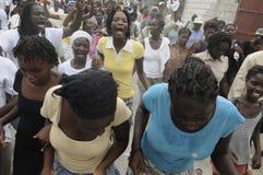 Haiti-Begräbnis. Lizenzfreie Stockbilder