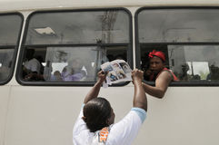 Haiti begravning. Royaltyfri Bild