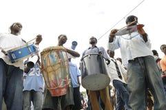 Haiti begravning. arkivbild