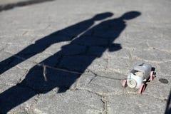 Haiti cienie Zdjęcia Royalty Free