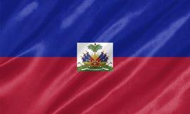 Haiti-Flagge stock abbildung