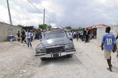 Haiti Funeral. Stock Photos