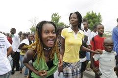 Haiti Funeral. Stock Images