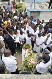 Haiti Funeral. Royalty Free Stock Images