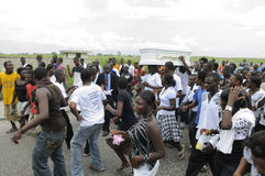 Haiti Funeral. Royalty Free Stock Image