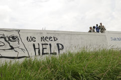 Haiti Funeral. Stock Image