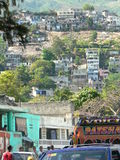 Haiti hillside Royalty Free Stock Images