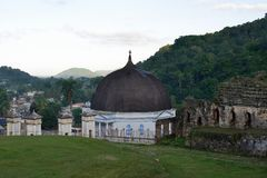 Haiti katedra w Milot fotografia royalty free