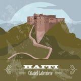 Haiti landmarks. Citadel Laferriere. Retro styled image Royalty Free Stock Photography