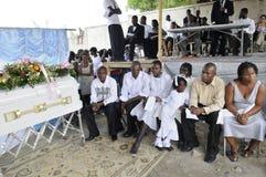 Haiti pogrzeb. obrazy stock