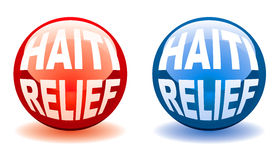 Haiti relief balls Royalty Free Stock Photo