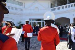 HAITI-VISIT Fotografering för Bildbyråer