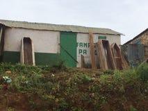 Haitian Coffins stock image