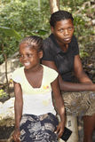 Haitian Contrast Stock Photo