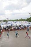 Haitian Football. Royalty Free Stock Photo