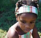 Haitian Girl Royalty Free Stock Photos