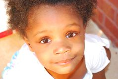 Haitian Orphan Royalty Free Stock Image