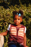Haitian Orphan Stock Image
