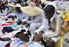 Haitianischer Verkäufer. stockfotos