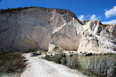 Haitira klippor Royaltyfri Fotografi
