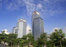 Haitou group building from low angle view Stock Photography