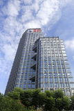 Haitou group building from low angle view Stock Photo