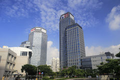 Haitou group building from low angle view Stock Images