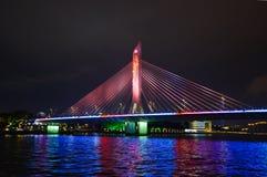 Haiyin-Brücke ist eine Brücke, die den Pearl River kreuzt Lizenzfreies Stockbild