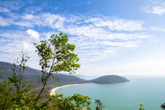 Haiyun Road off Danang in Vietnam Royalty Free Stock Image