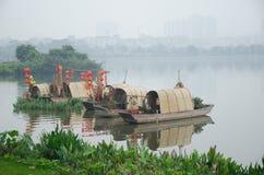 Haizhu广州湖风景区 库存图片