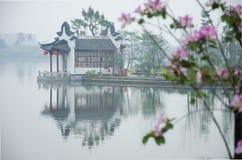 Haizhu广州湖风景区 免版税图库摄影