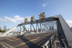 : Haizhu-Brücke Lizenzfreies Stockbild