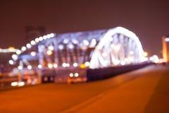 Haizhu bridge blurred background Royalty Free Stock Photo